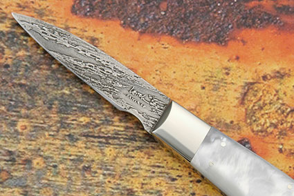 Paring Knife with Mother of Pearl