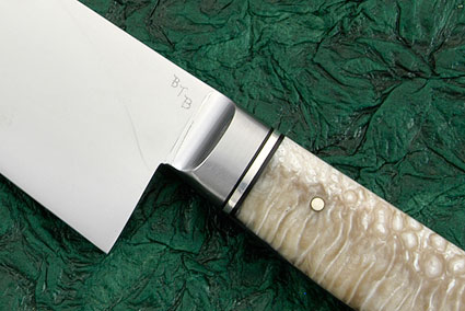 Chef's Knife (Gyuto) with Muskox Horn (10
