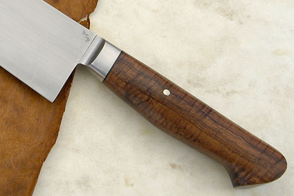 Chef's Knife (Gyuto) with Curly Koa (10-3/4