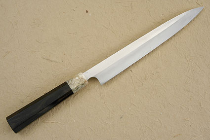 Blackwoods & Musk Ox Honyaki Yanagi, 260mm (10-1/4 in)