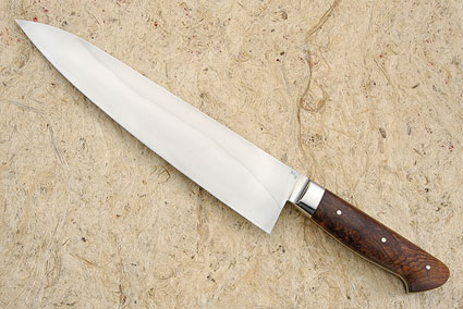 Chef's Knife (Gyuto) with Brazilian Rosewood (10