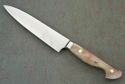 Western Slicing Knife with Sheep Horn - 150mm (6 in)