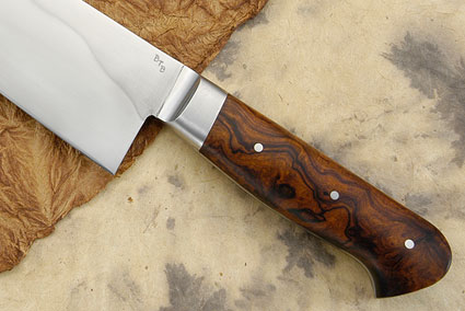 Chef's Knife (Kiritsuke Style Gyuto) with Ironwood (9 3/4