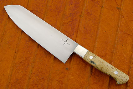 Chef's Knife (Santoku) with Giraffe Bone (7 in)