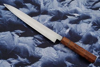 Tamahagane Yanagi (9-1/8 in/230mm) with Lacewood