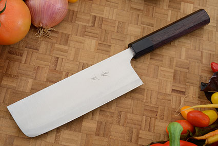 Hayabusa Vegetable Cleaver - Nakiri - 6-3/4 in. (170mm)