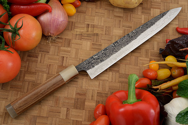 Damascus SLD Slicing Knife - Sujihiki - 9-1/2 in. (240mm)