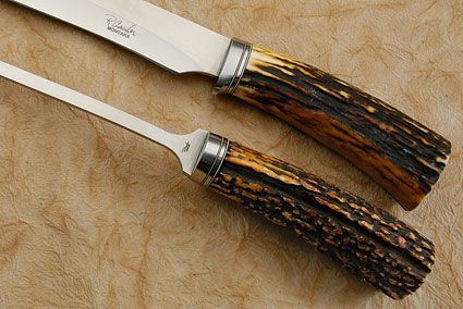 Sambar Stag Carving Set