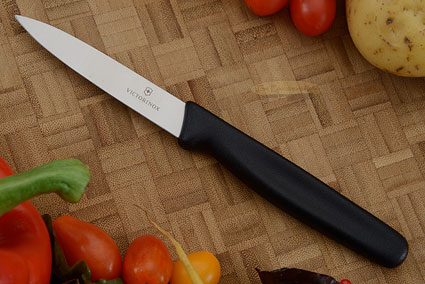 Victorinox Fibrox Paring Knife, Spear Point - 3-1/4 in. (40508)