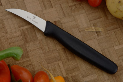 Victorinox Fibrox Bird's Beak Garnish Knife/Tourne Knife - 2-1/2 in. (40606)