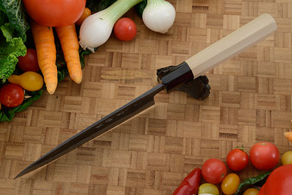 Chef's Knife (Funayuki) - 6-1/2 in. (165mm), Traditional Handle