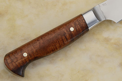 Paring Knife with Curly Koa (4-1/4 in)