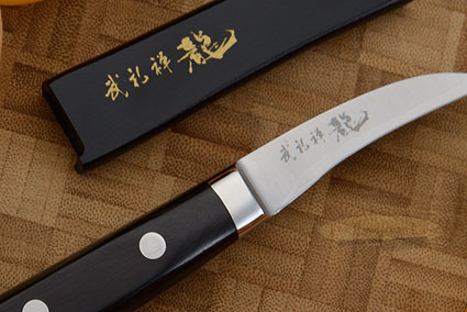 Bu-Rei-Zen (Blazen) Peeling/Garnishing Knife - Tourne Knife - 2-1/2 in. (65mm)