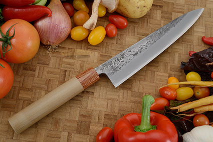 Nashiji Chef's Knife (Gyuto) - 8 1/4 in. (210mm)