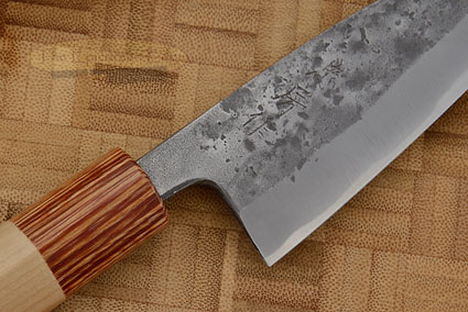 Nashiji Utility Knife - Wide Petty - 4 1/8 in (105mm) - Shinogi Handle