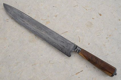 Integral Damascus Gaucho with Ironwood