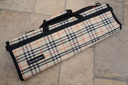 8 Pocket Knife Roll, Deluxe Tan Plaid (2066-8/TP)