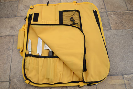 8 Pocket Knife Roll, Yellow (2066-8/Y)