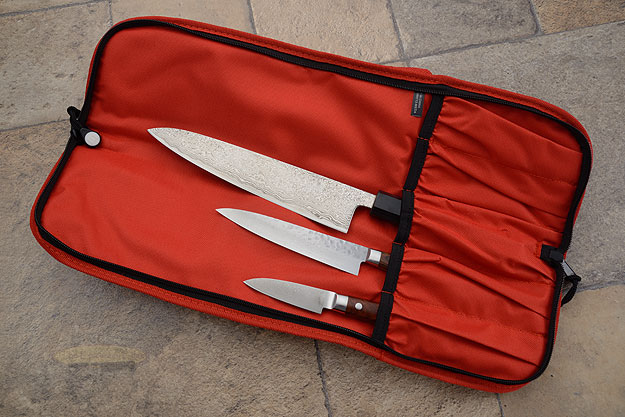 5 Pocket Knife Roll, Red (2066-5/R)