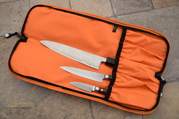 5 Pocket Knife Roll, Orange (1066-5/O)