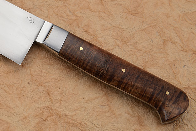 Chef's Knife (Santoku) with Curly Koa (5-1/2 in)