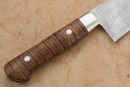 Damascus Chef's Knife with Koa (9 1/2 inches)