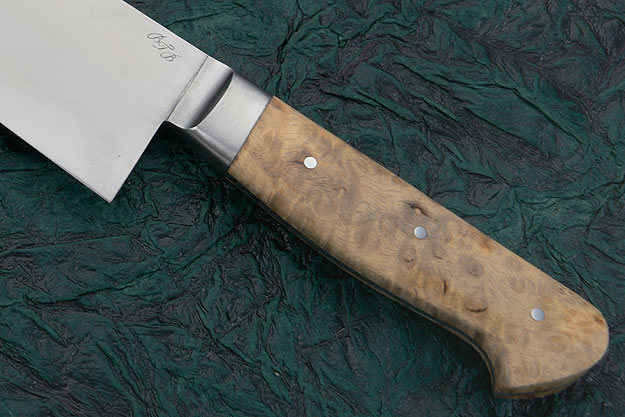 Chef's Knife (Gyuto) with Myrtlewood Burl (9-3/4