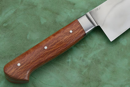 Chef's Knife (Gyuto) with Sheoak Burl (8-1/2