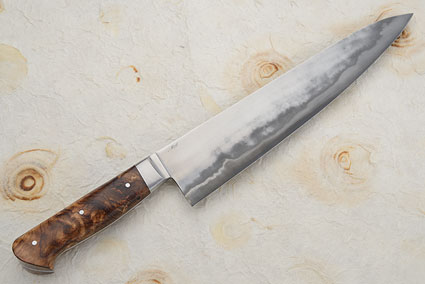Chef's Knife (Gyuto) - San Mai with Rosewood (10-1/4