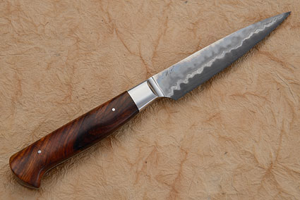 Paring Knife (Petty) - San Mai with Cocobolo (3-1/2