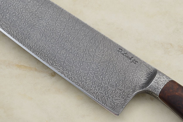 Chef's Knife (9-3/4 in) with Pinwheel Damascus