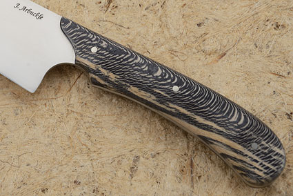 Chef's Knife with Snakewood Sycamore (7-1/2 in)