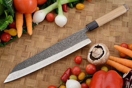 Damascus SLD Chef's Knife - Kiritsuke Gyuto - 10-2/3 in. (270mm)