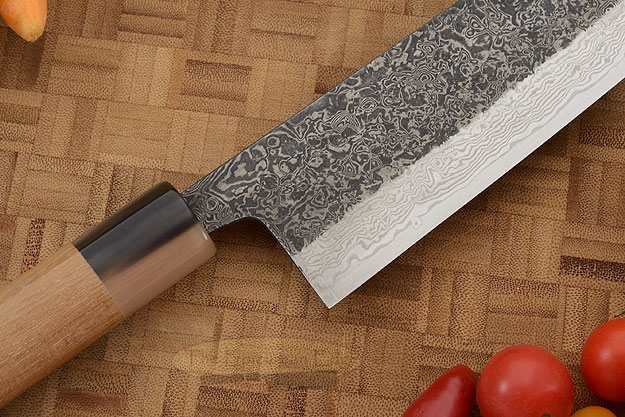 Damascus SLD Chef's Knife - Kiritsuke Gyuto - 9-1/2 in. (240mm)