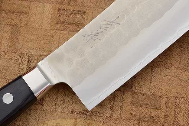 Hammer Finished Chef's Knife - Hakata Santoku, Western - 6 1/2 in. (165mm)