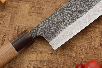 Damascus SLD Chef's Knife - Hakata Santoku - 7-1/8 in. (180mm)