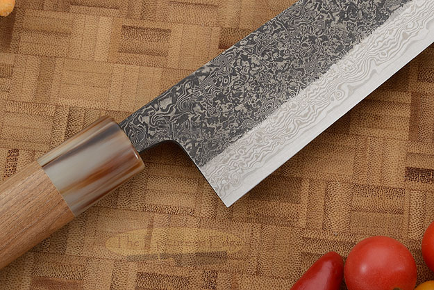 Damascus SLD Chef's Knife - Kiritsuke Gyuto - 8-1/4 in. (210mm)