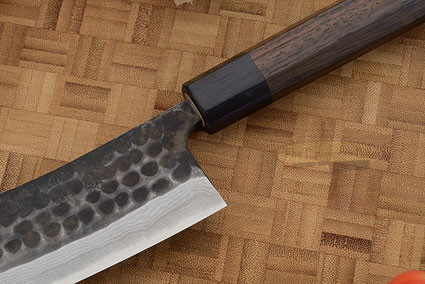 Tojinbo Damascus Chef's Knife - Hakata Santoku - 6-3/4 in. (170mm)