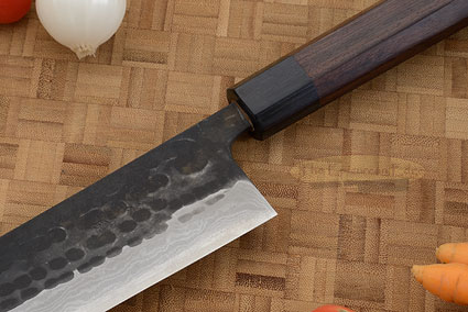 Tojinbo Damascus Chef's Knife - Kiritsuke Gyuto - 9-1/2 in. (240mm)