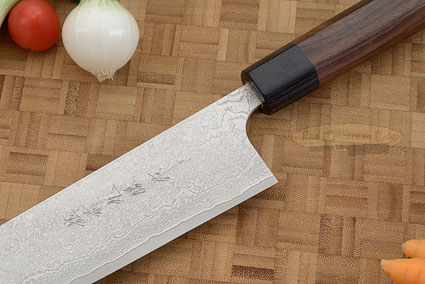Asai Damascus Chef's Knife - Kiritsuke Gyuto - 9 1/2 in. (240mm)