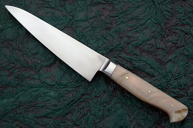 Petit Gyuto/Utility Knife with Sheep Horn (6-1/8 in.)