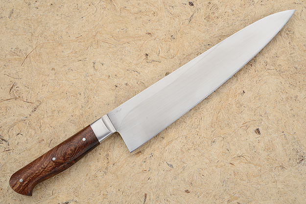 Chef's Knife (Gyuto) with Snakeskin Sycamore (10