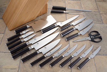 Shun Classic 21pc Kitchen Knife Set (DMS2100)
