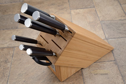 Shun Classic 9pc Kitchen Knife Set (DMS0910)