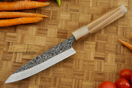 Damascus SLD Utility - Fruit Knife - 4 3/4 in. (120mm)