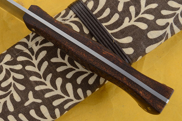 Goncalo Alves Camp Knife/Heavy Chef's Knife (Honyaki)
