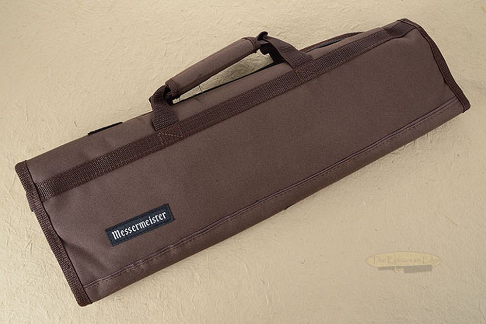 8 Pocket Knife Roll, Brown (2066-8/BR)