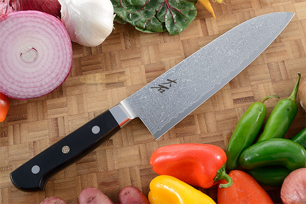 Damascus Chef Knife - Santoku - 7-1/8 in. (180mm)