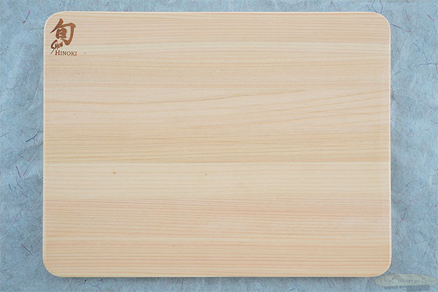 Small Hinoki Cutting Board (10-3/4 in x 8-1/4 in x 1/2 in) - DM0814
