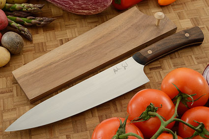 Chef's Knife (8-1/2 in.) with Claro Walnut